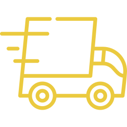 An icon depicting a fast truck.